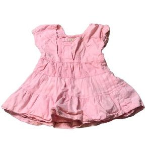 3/$10 Old Navy Pink Baby Girl's Peasant Dress